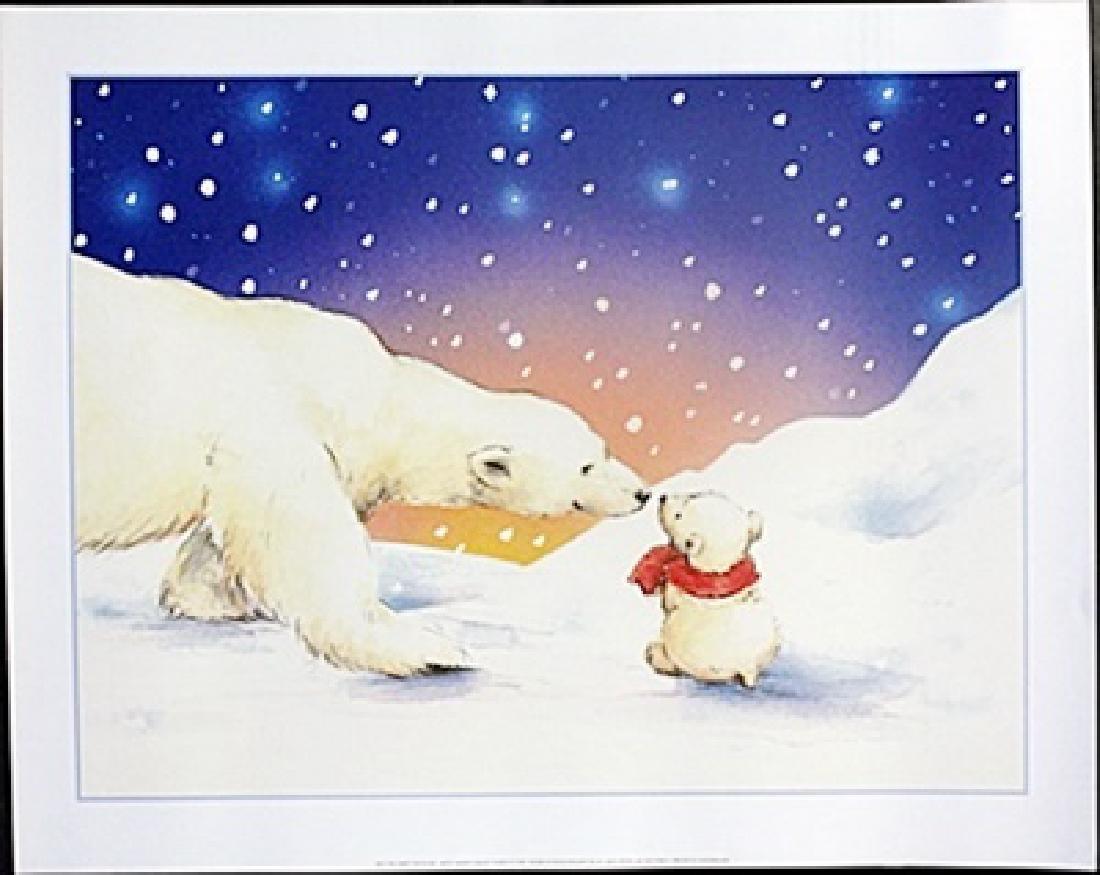 "Fine Art Print ""The Happy Twosome"" by Makiko"