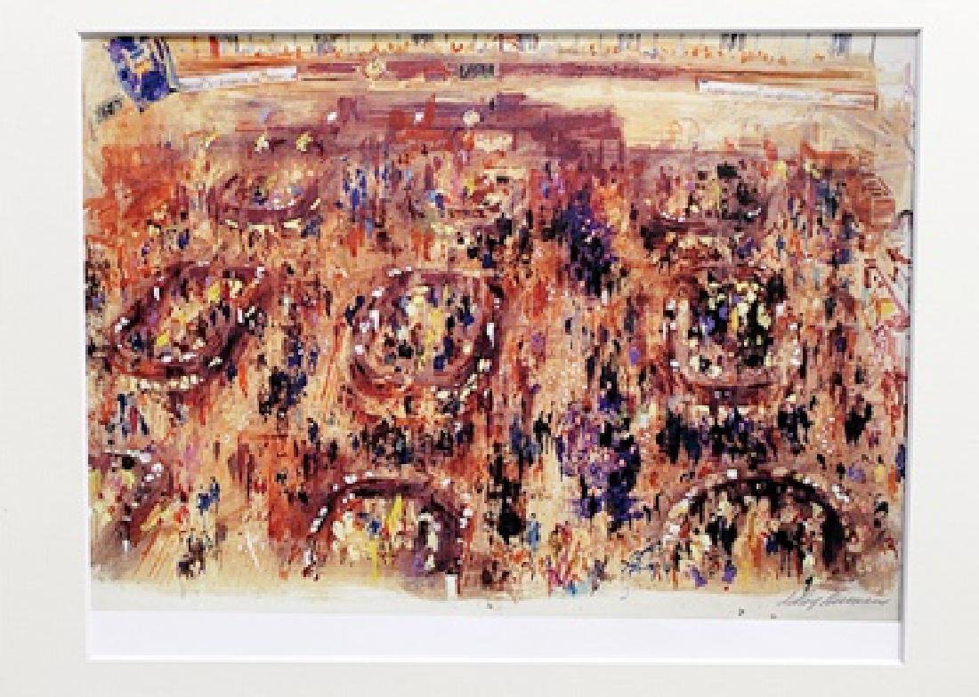 Leroy Neiman - New York Stock Exchange - Lithograph