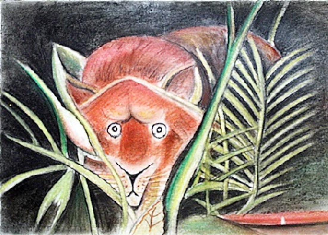 Henri Rousseau - The Lion