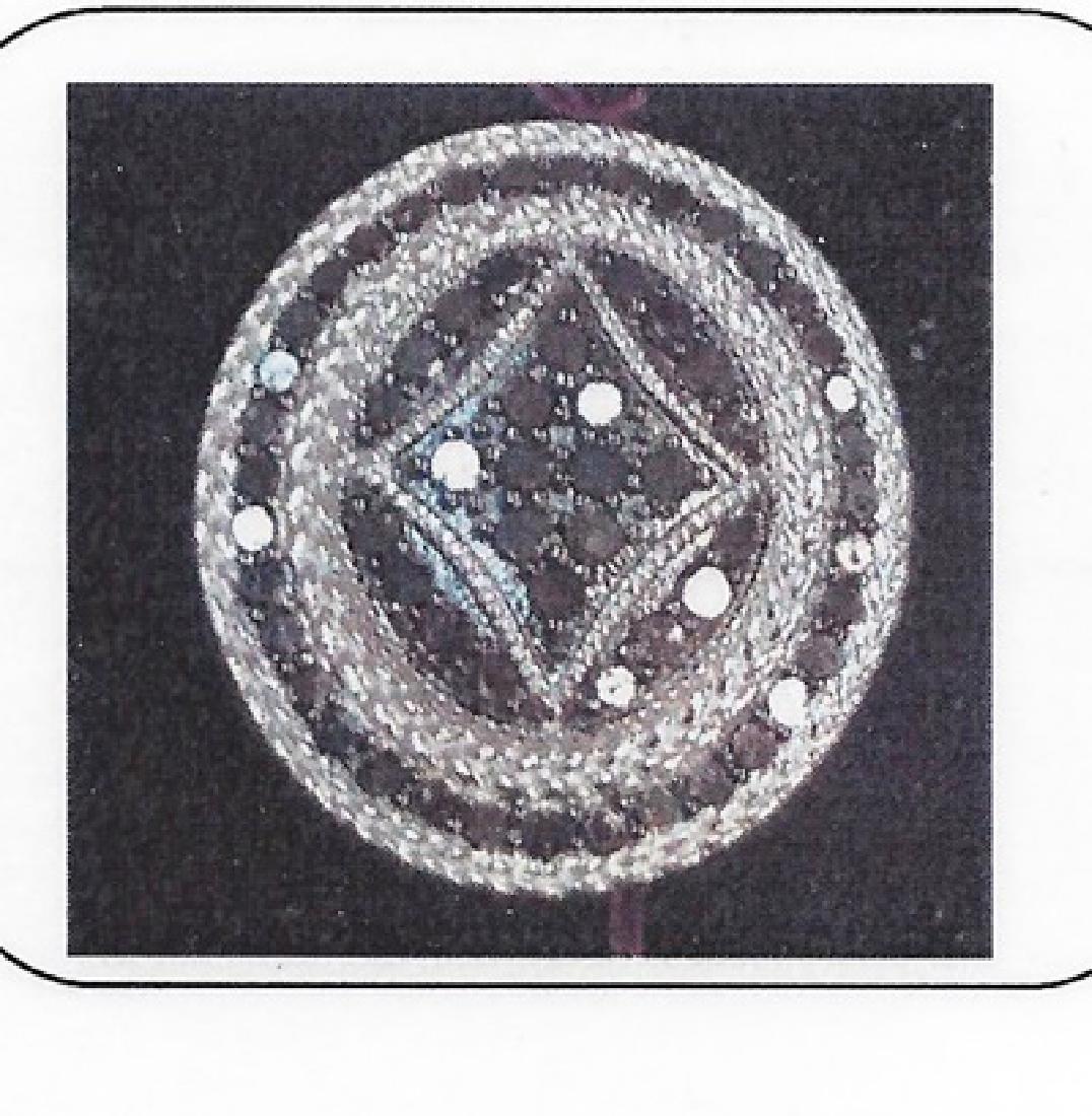 Ladys silver diamond ring