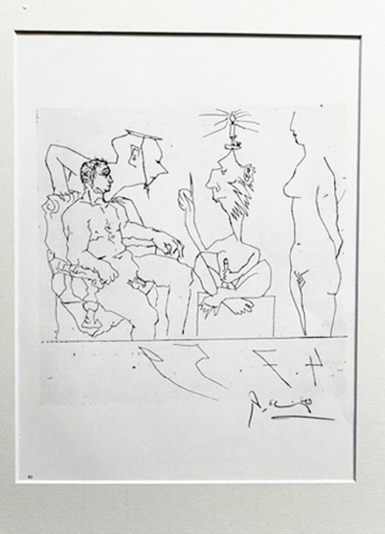Pablo Picasso - Lithograph 08R
