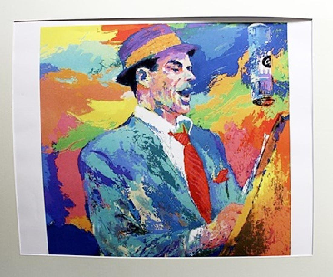 Leroy Neiman - Frank Sinatra - Lithograph