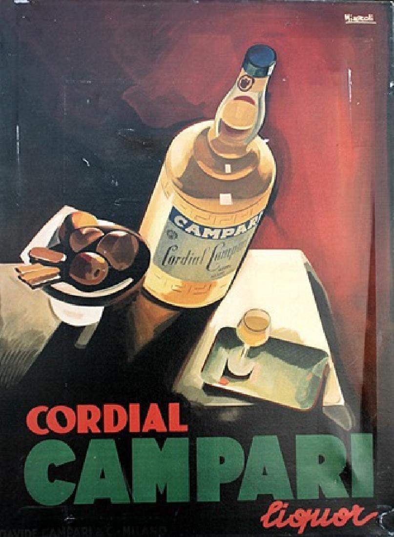 Cordial Campari - Marcello Nizzoli - Giclee