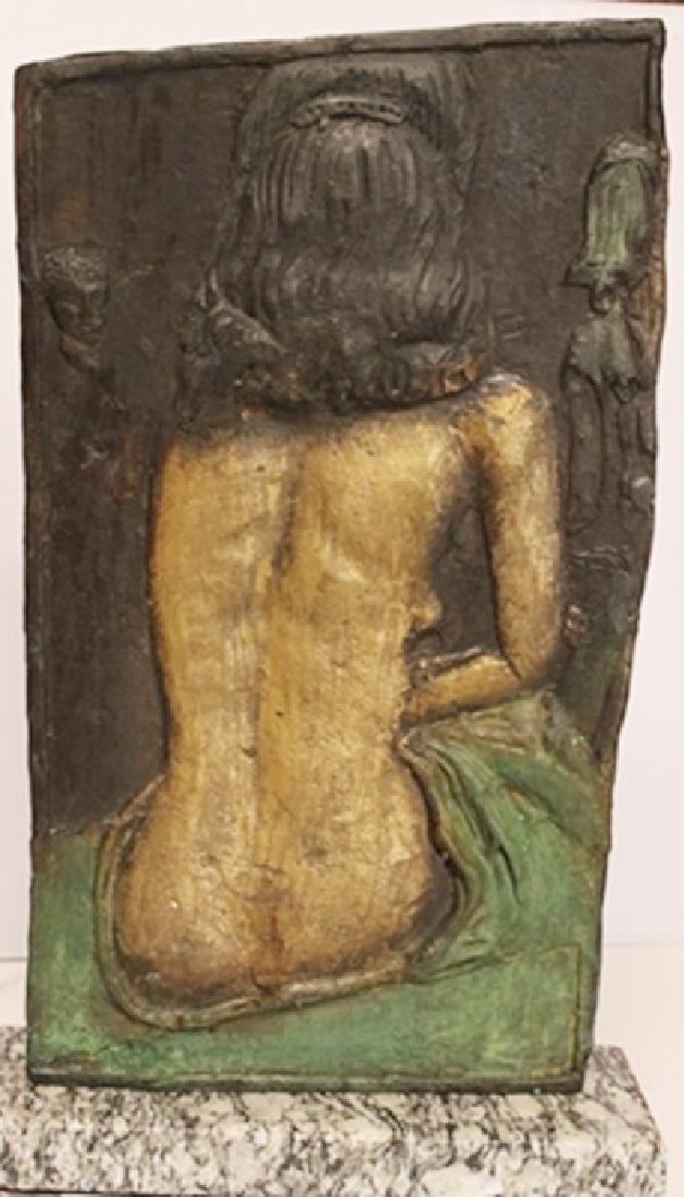 Nude - Patina Bronze Sculpture - Salvador Dali