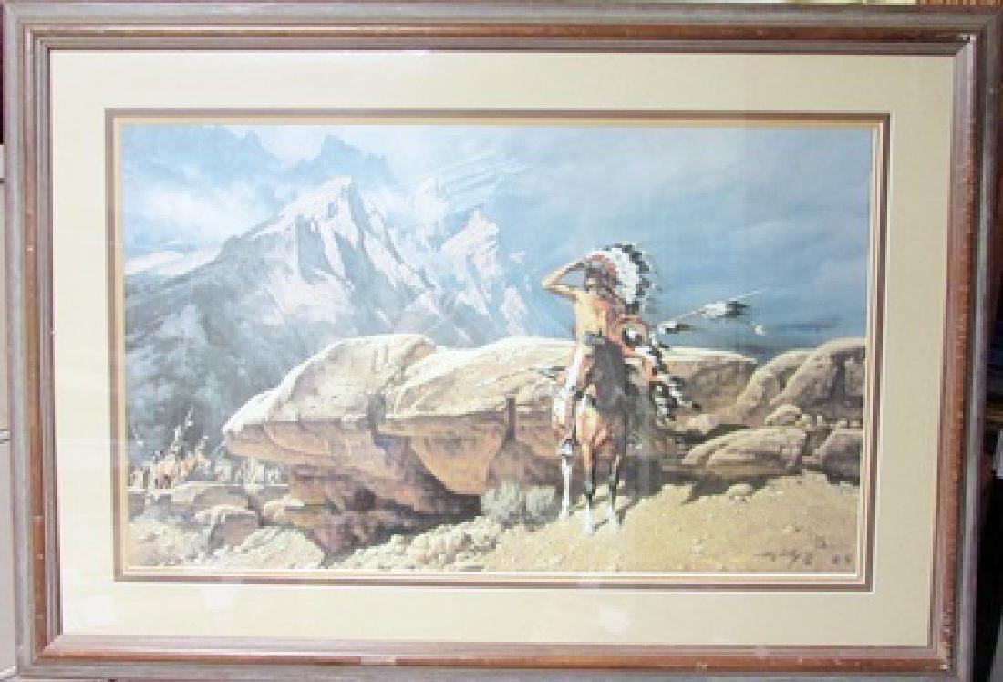 Frank C. McCarthy on Canvas
