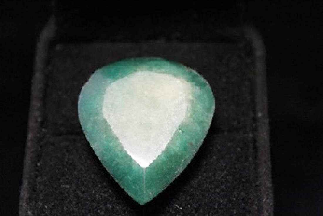 Stunning Pear Shape Emerald (40M)