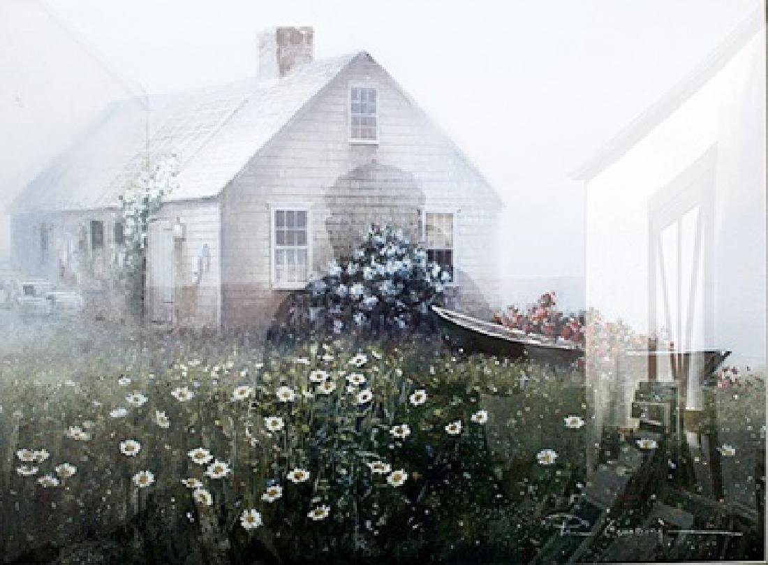 Raymond's Cottage - Paul Landry - Lithograph