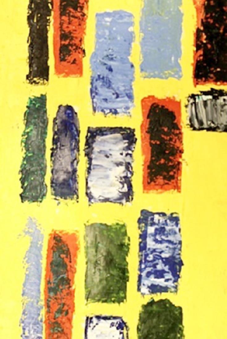 Composition In Yellow - Nicolas De Stael