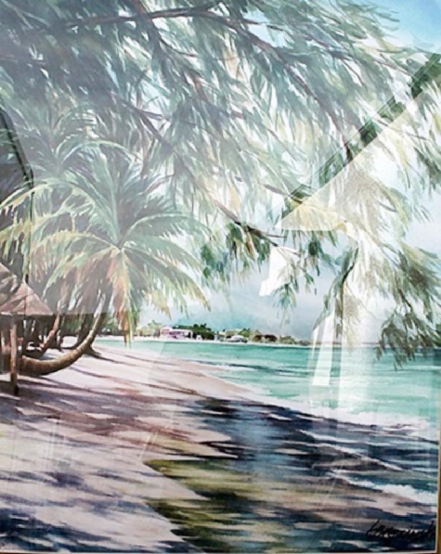 Morning Walk - Lois Brezinski - Lithograph
