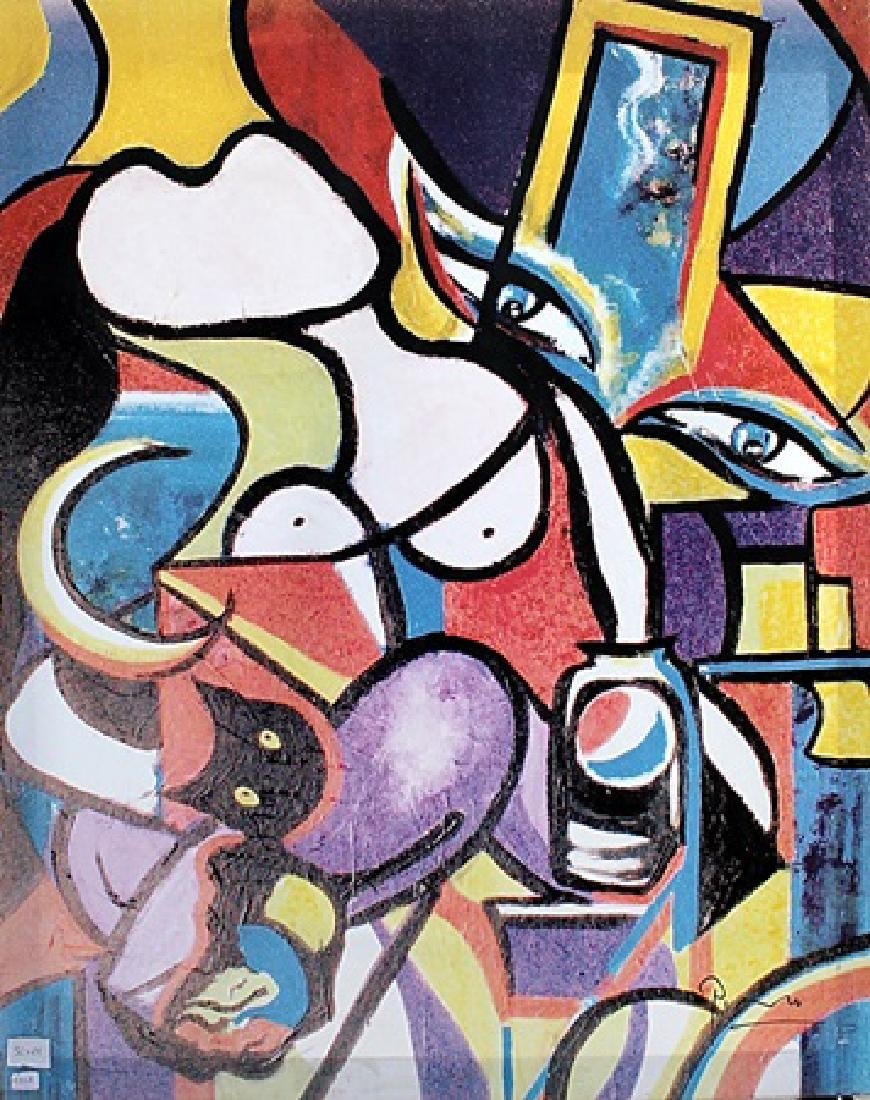 Abstract Art - Pablo Picasso - Canvas