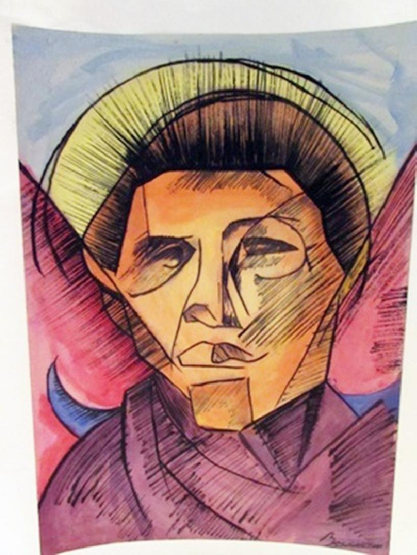 Umberto Boccioni - Mr Stephan Watercolor