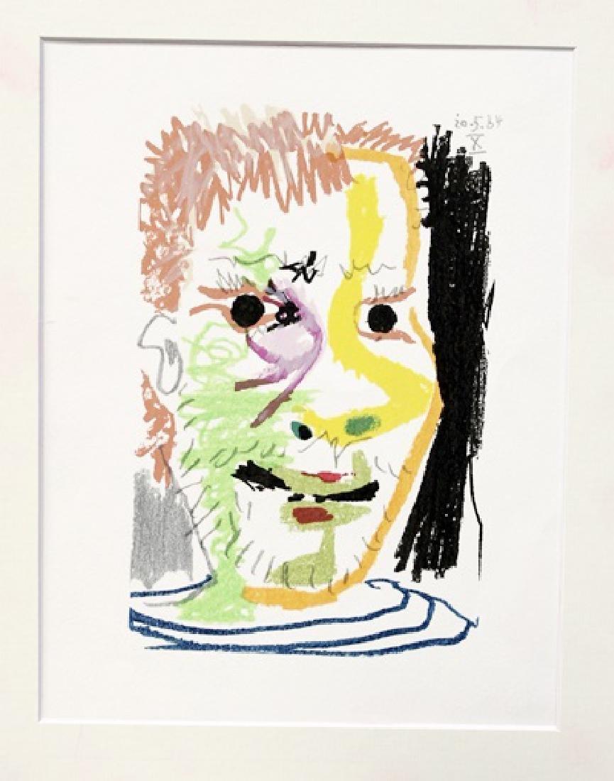 Pablo Picasso - Carnet I: Planche 23 - Lithograph