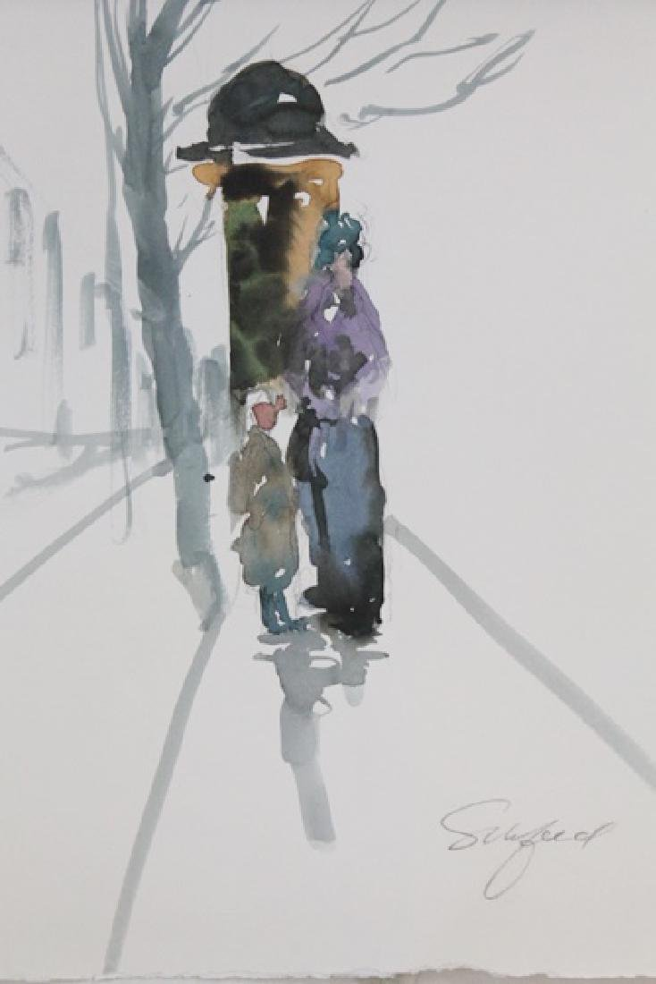 """""""BUS STOP"""" BY MICHAEL SCHOFIELD"""
