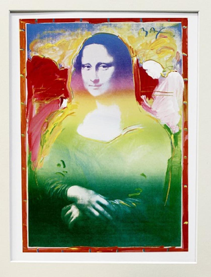 Peter Max - Mona Lisa I - Lithograph