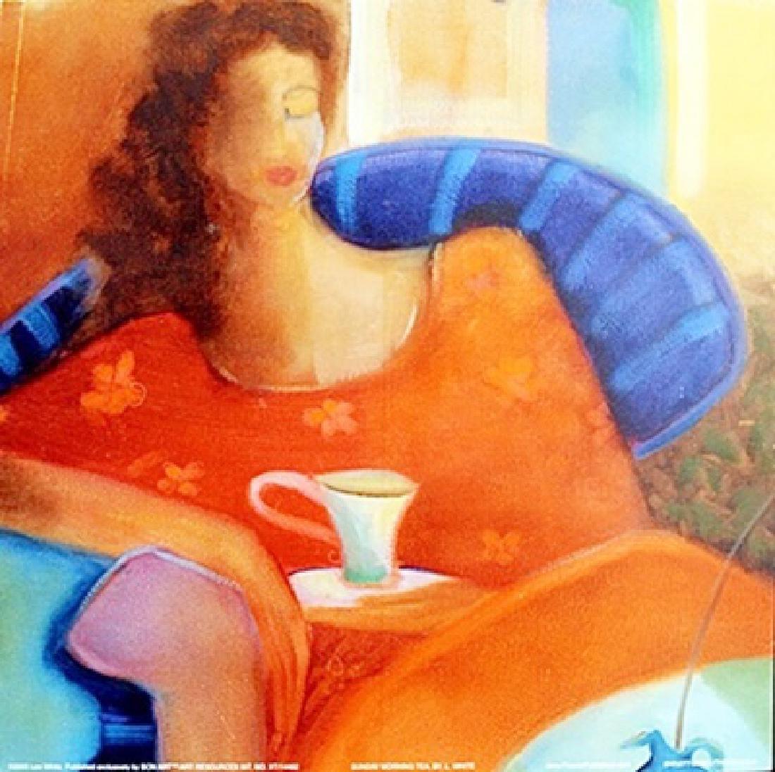 "Fine Art Print ""Sunday Morning Tea"" by Lee White"