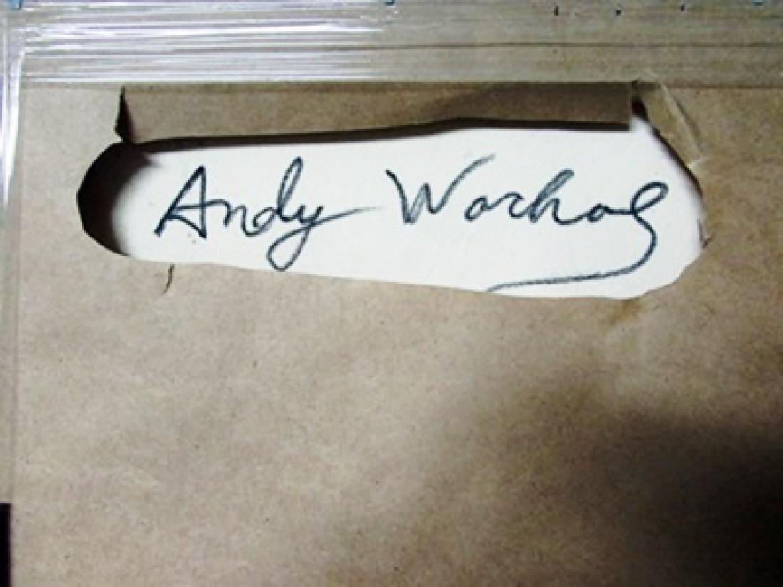 Andy Warhol Acrylic and Silkscreen Ink - 2