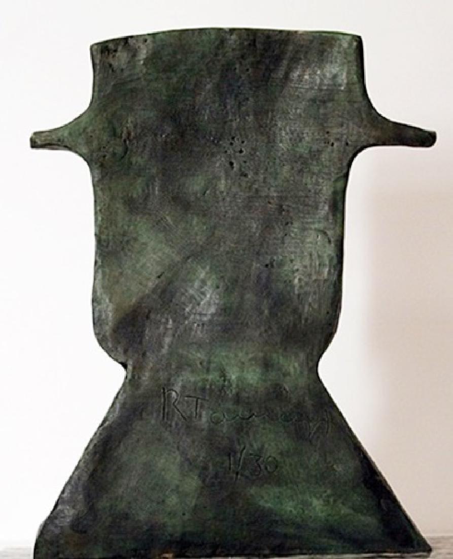 Patina Bronze Sculpture - Artist Rufino Tamayo - 3