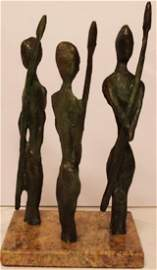 3 Guards - Patina Bronze - Salvador Dali