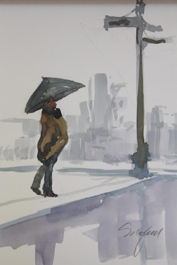"""""""WALKING IN THE RAIN"""" BY MICHAEL SCHOFIELD"""