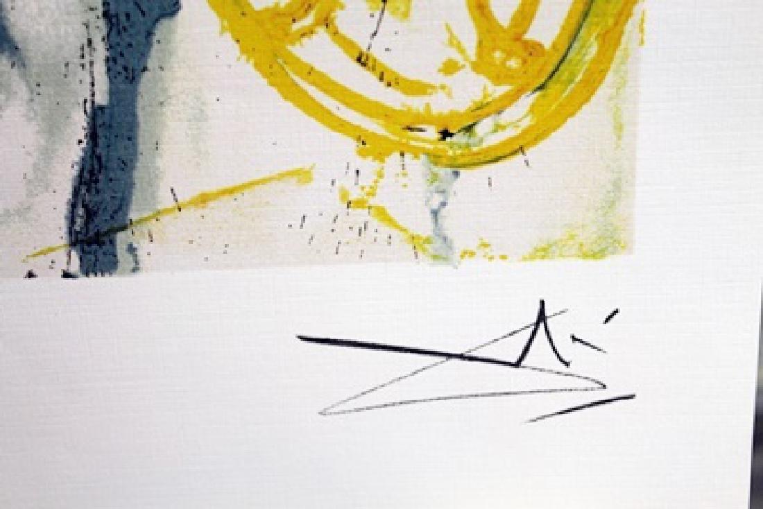 Signed Limited Edition Salvador Dali - 2
