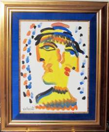 Signed W.M.Verdult on Canvas
