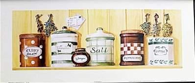 "Fine Art Print ""Kitchen Spices I"" by Stephanie Happen"