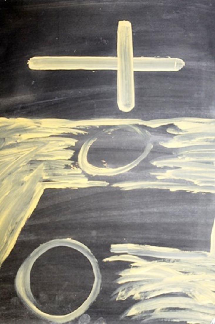 The Church - Antoni Tapies - Oil On Paper - 2