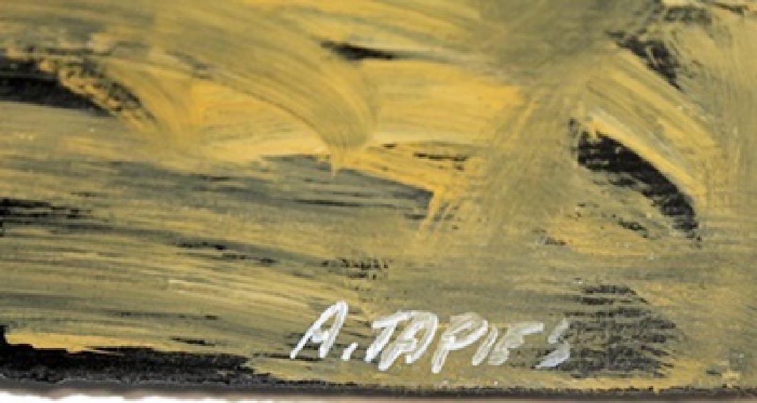 The Church - Antoni Tapies - Oil On Paper - 3
