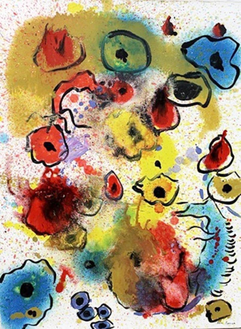 Sam Francis - Oil on Canvas 126A