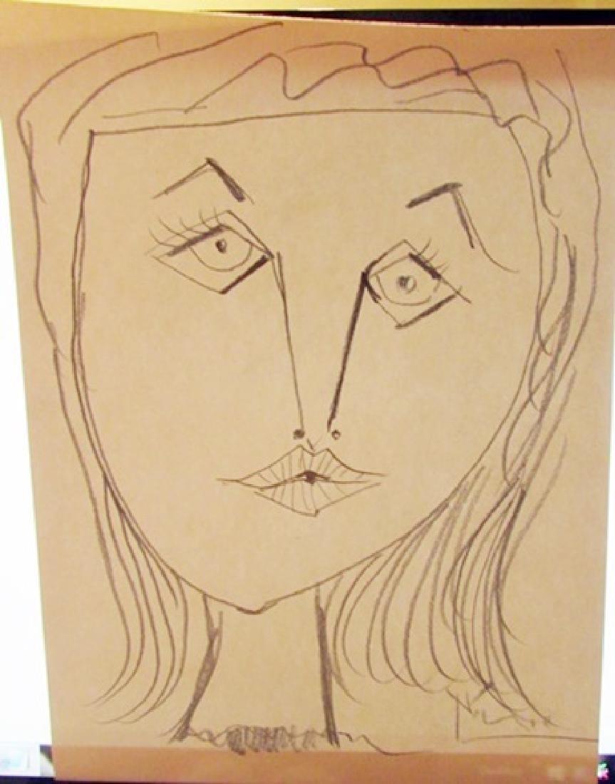 Pablo picasso pencil drawing oct 11 2018 antique auctions plus