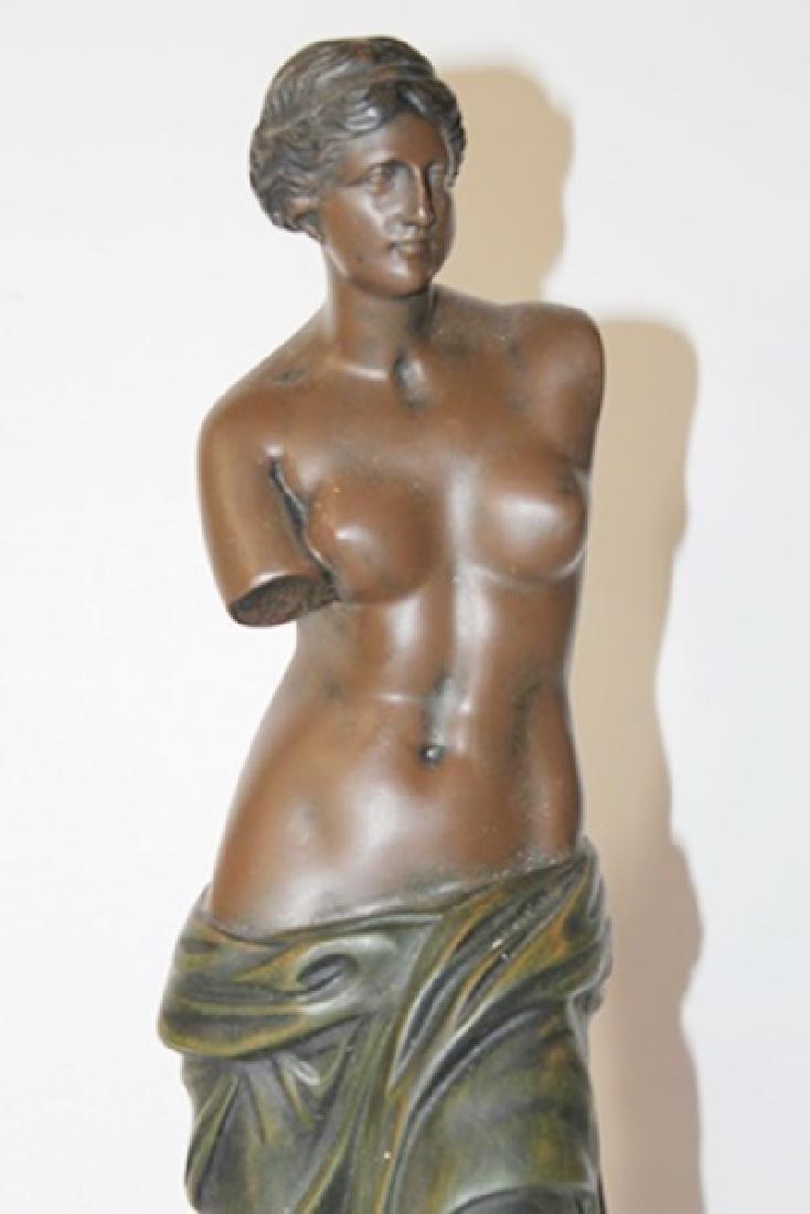 Nude Bust - Bronze Sculp. - Moreau - 2
