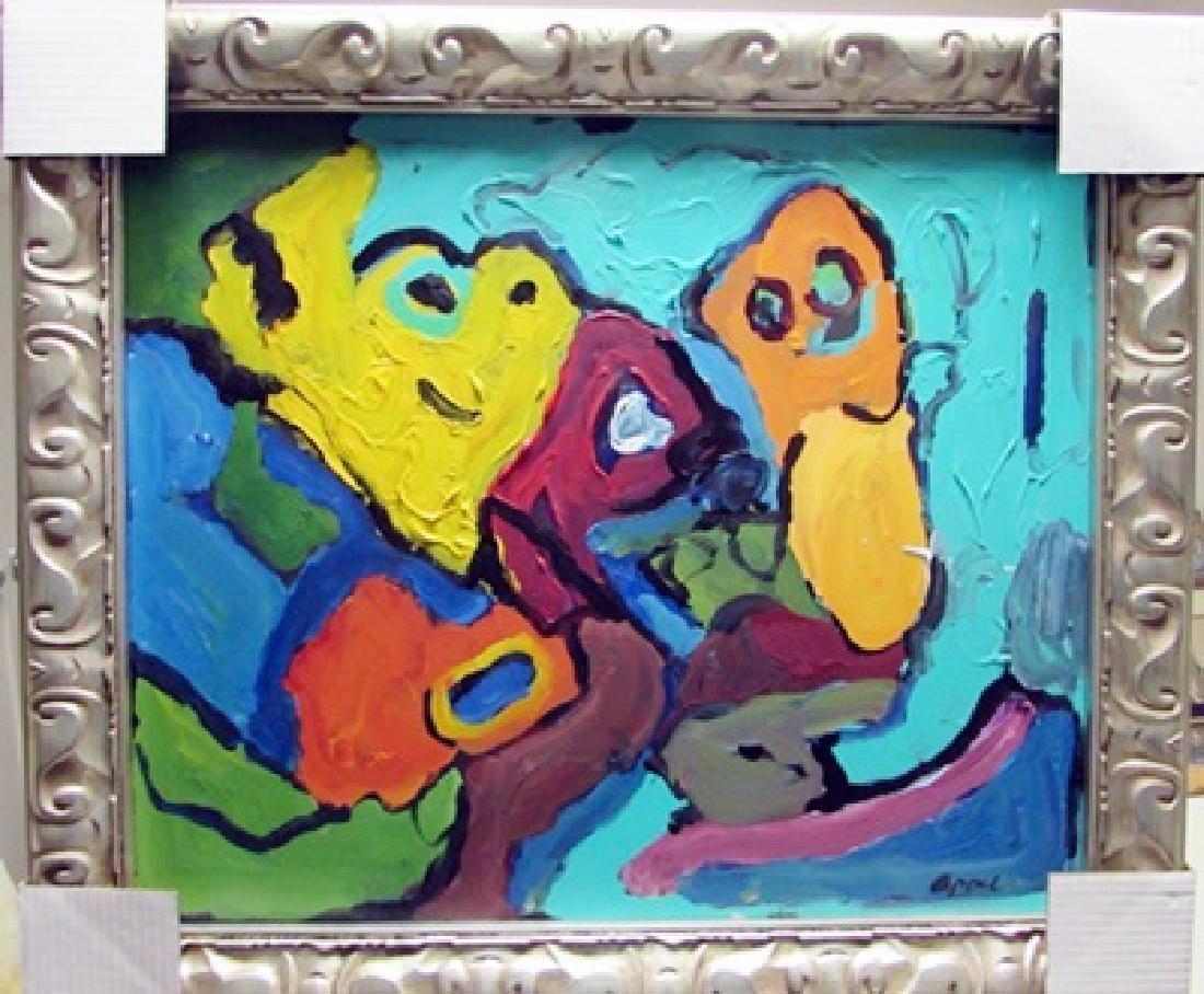 Karen Appel Oil Painting