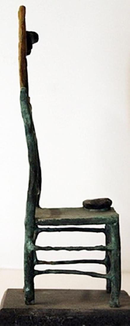 Patina Bronze Sculpture - Joan Miro - 2