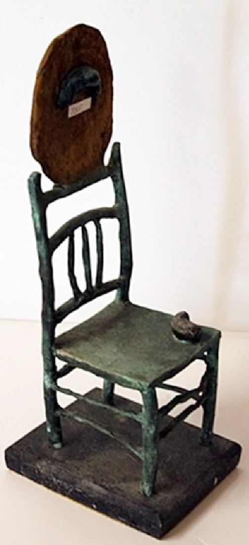 Patina Bronze Sculpture - Joan Miro - 3