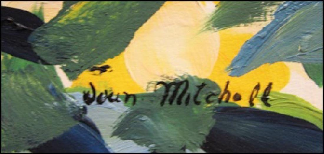 Joan Mitchell - Oil On Paper 0099 - 2