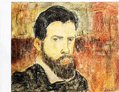 Joaquin Sorolla - Self Portrait