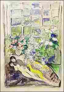 Marc Chagall - Lithograph 1