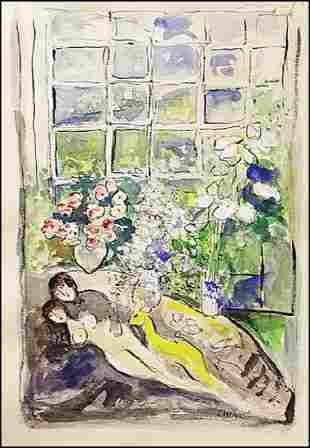 Marc Chagall Lithograph 1