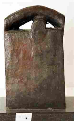 Bronze Sculpture Edouardo Chillidia