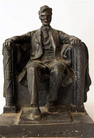 Abraham Lincoln Memorial Bronze Sculpture