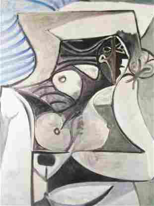 Signed Lithograph Pablo Picasso H40