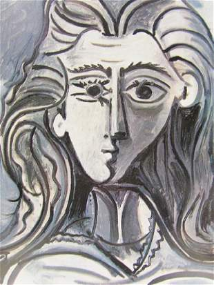 Signed Lithograph Pablo Picasso H19