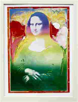 Peter Max Mona Lisa I Lithograph