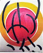 Marino Marini - The Sun 1960 Oil