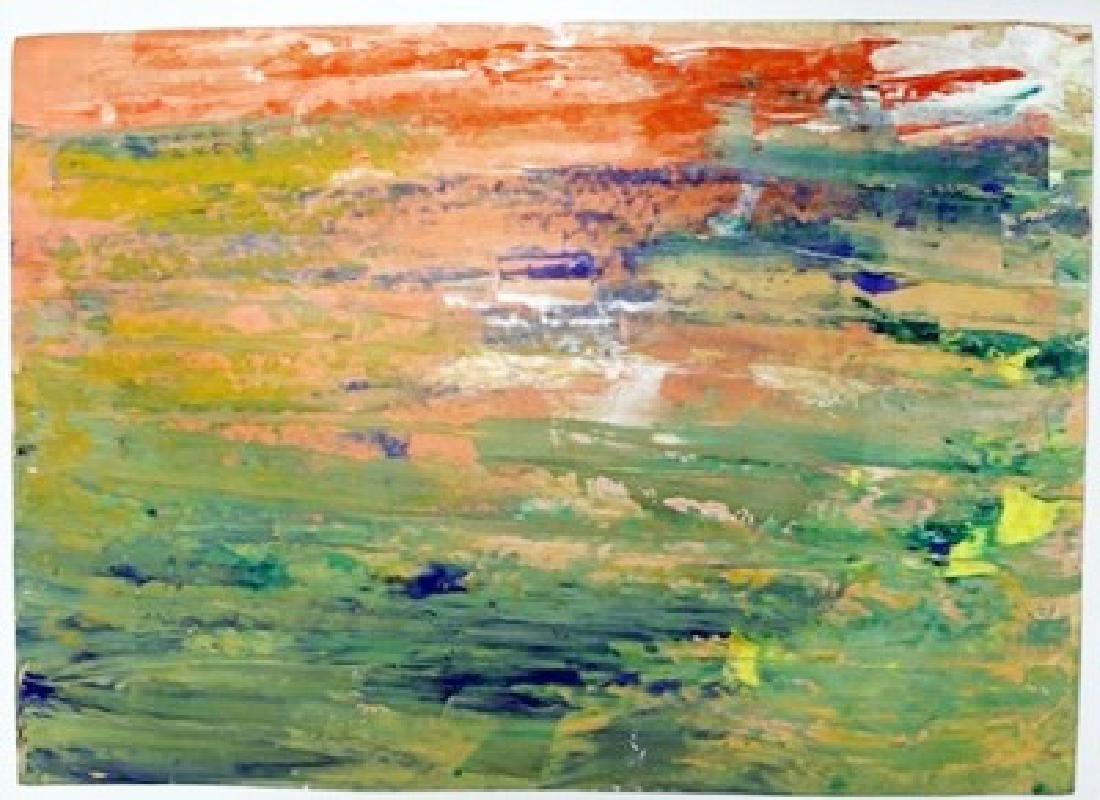 Colours Wall - Gerhard Richter - Oil On Paper
