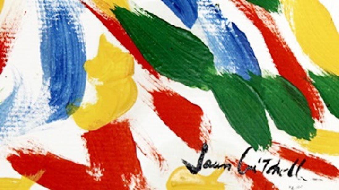 The Jungle - Joan Mitchell - Oil On Paper - 3