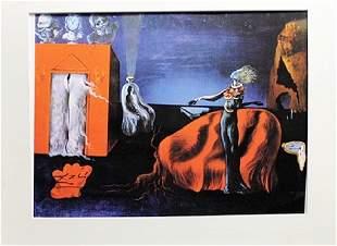 Salvador Dali Persistence of Memory Clock