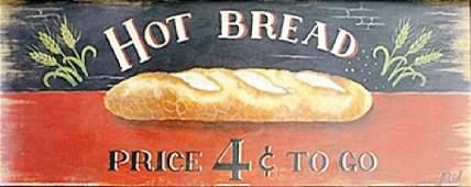 Fine Art Print Hot Bread by M Gordon