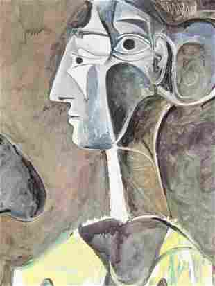 Signed Lithograph Pablo Picasso H27