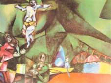 Signed Lithograph Marc Chagall H157